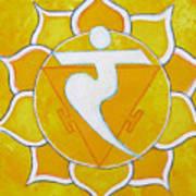 Solar Plexus Chakra - Manipura Poster