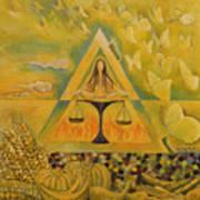 Solar Plexus Poster by Manami Lingerfelt