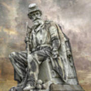 Soldiers National Monument War Statue Gettysburg Cemetery  Poster