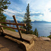 Solitude At Crater Lake Poster