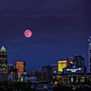 Solstice Strawberry Moon Charlotte, Nc Poster