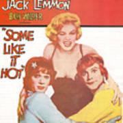 Some Like It Hot Poster by Georgia Fowler