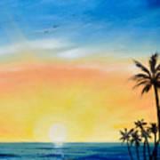 Sometimes I Wonder - Vertical Sunset Poster