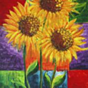 Sonflowers I Poster