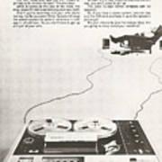 Sony Vintage Advert Poster