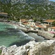 Sormiou Creek In The Calanque Poster