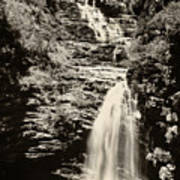 Sossego Waterfall Poster