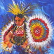 Souix Dancer Poster by Summer Celeste