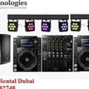 Sound System Rental Dubai - Rent,lease,hire Sound System Dubai Poster