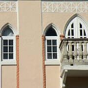 South Beach Balcony Poster