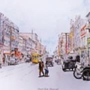 South Elm Street 1918 Poster
