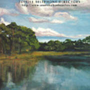 South Walton Telephone Directory Cover Art Poster