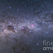 Southern Milky Way From Vela Poster