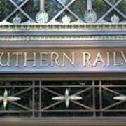 Southern Railway Building Poster