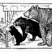 Southey: Three Bears, 1892 Poster