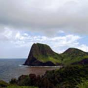 Southwest Coast Of Maui Poster