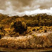 Southwest National Park Tasmania Poster