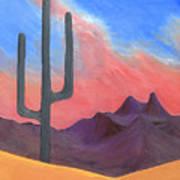 Southwest Scene Poster