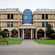 Sovereign Shopping Centre - Entrance From The Garden Poster