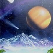 Space Art 2 Poster by Lane Owen