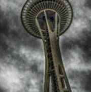 Space Needle Poster