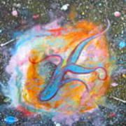 Space Ocean Poster