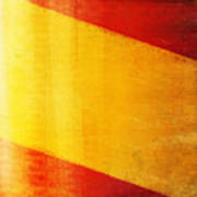 Spain Flag Poster by Setsiri Silapasuwanchai