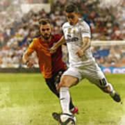 Spain Soccer Bernabeu Trophy Poster