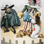 Spanish-american War, 1896 Poster