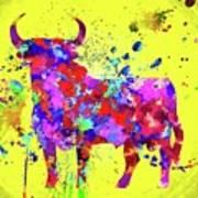 Spanish Bull  Toro Bravo Poster