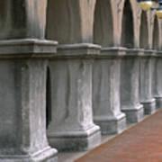 Spanish Columns Poster