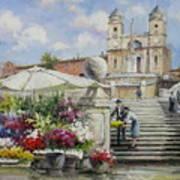 Spanish Steps, Rome Poster