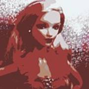 Sparkle Barbie Poster