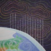 Spectrum Earth Spacescape Poster
