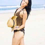 Spellbound Beach Beauty Poster
