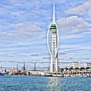 Spinnaker Tower Portsmouth Poster