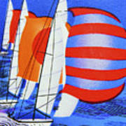 Spinnakers. Poster