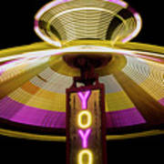 Spinning Yoyo Ride Poster