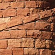 Spiral Bricks Poster