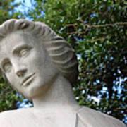 The Spirit Of Nursing Statue Up Close Poster