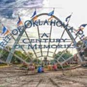 Spirit Of Oklahoma Plaza  Poster