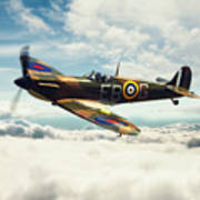 Spitfire P7350 Poster