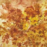 Splash Of Autumn Color Poster