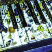 Splattered Keys Poster
