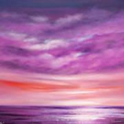Splendid Purple Poster