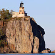 Split Rock Lighthouse Crop 9321 Poster