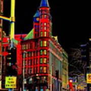 Spokane Turns Red Poster