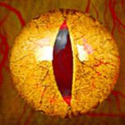 Spooky Cat Eye Poster