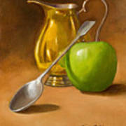 Spoon And Creamer  Poster