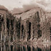 Sprague Lake Morning Poster